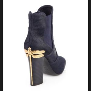 TORY BURCH THEODORA CALF LEATHER BOOTIES- beauty!